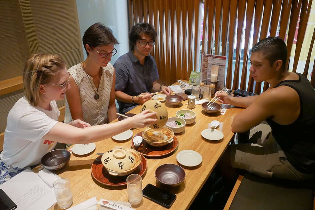 Food Tour at Yamamotoya in Sakae