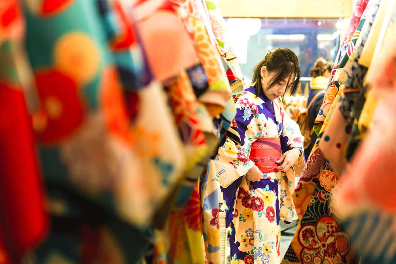 Kimono Shopping