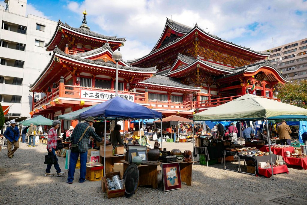 Osu Antique Market Osu Kannon Nagoya