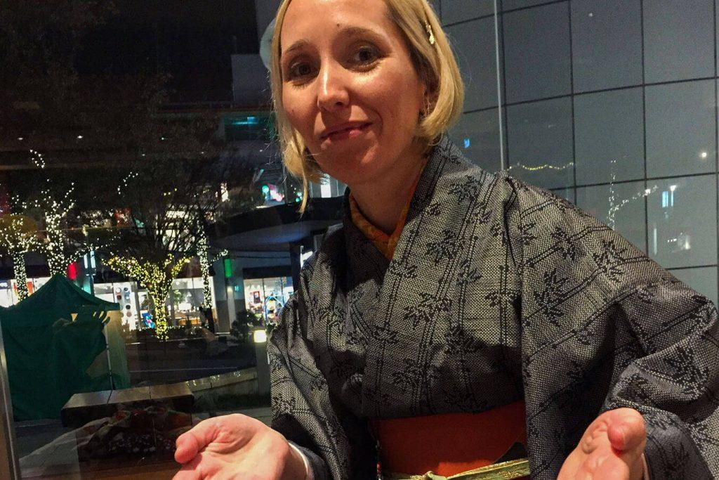 Tsumugi Kimono