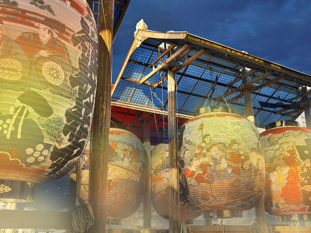Mikawa Isshiki Lantern Festival