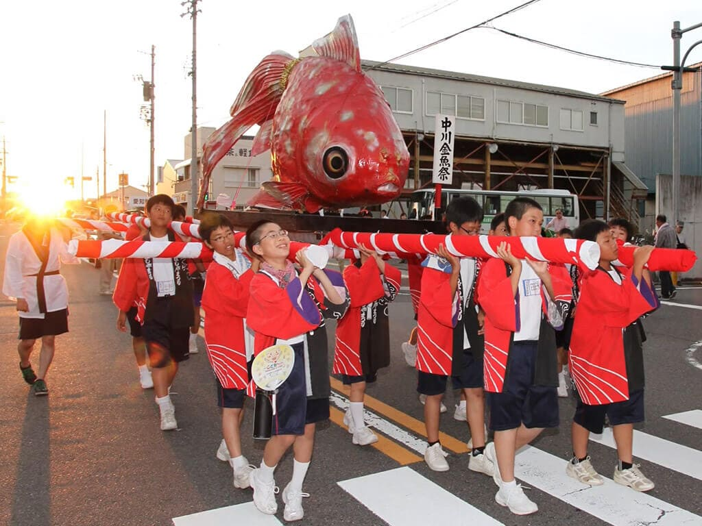Nakagawa Goldfish Festival