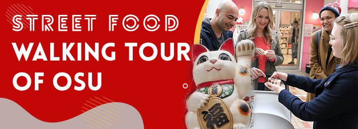 Street Food Walking Tour of Osu