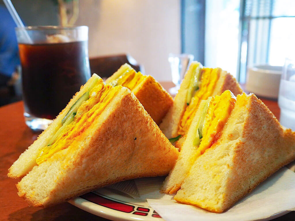 Cooktown Morning Service with delicious sandwiches.