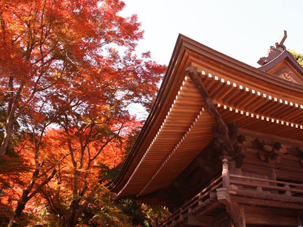 Fumonji Temple in Autumn