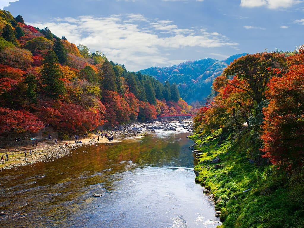 Korankei in autumn