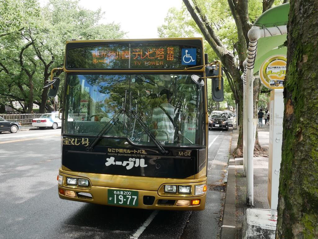 Meguru Nagoya Sightseeing Route Bus