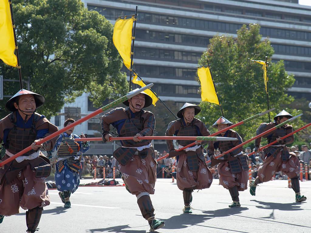 Nagoya Festival Samurais