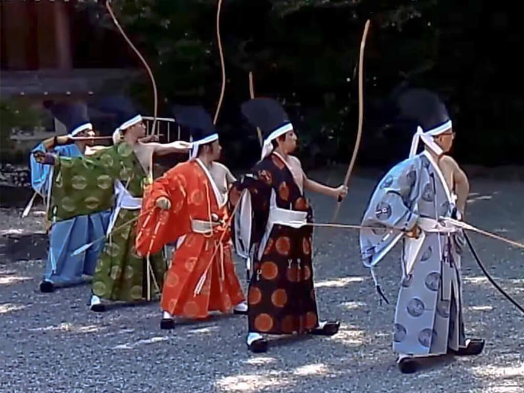 Nagoya Festival Kyudo