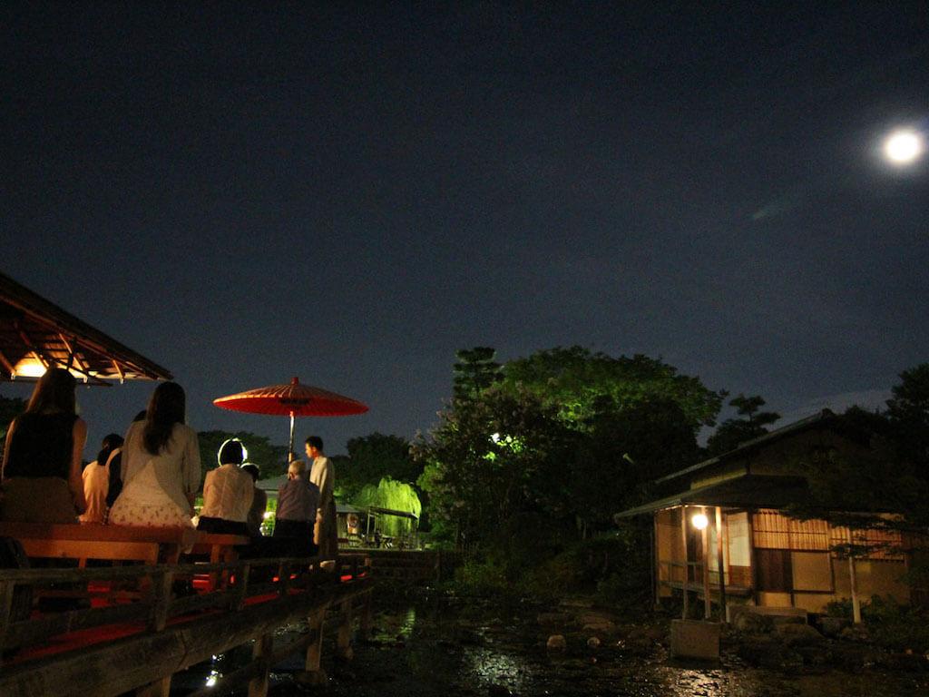Shirotori Garden Moon Viewing