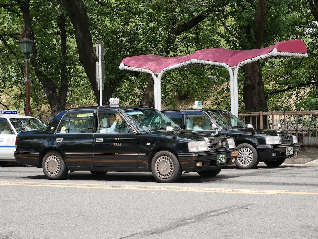 Taxis in Nagoya
