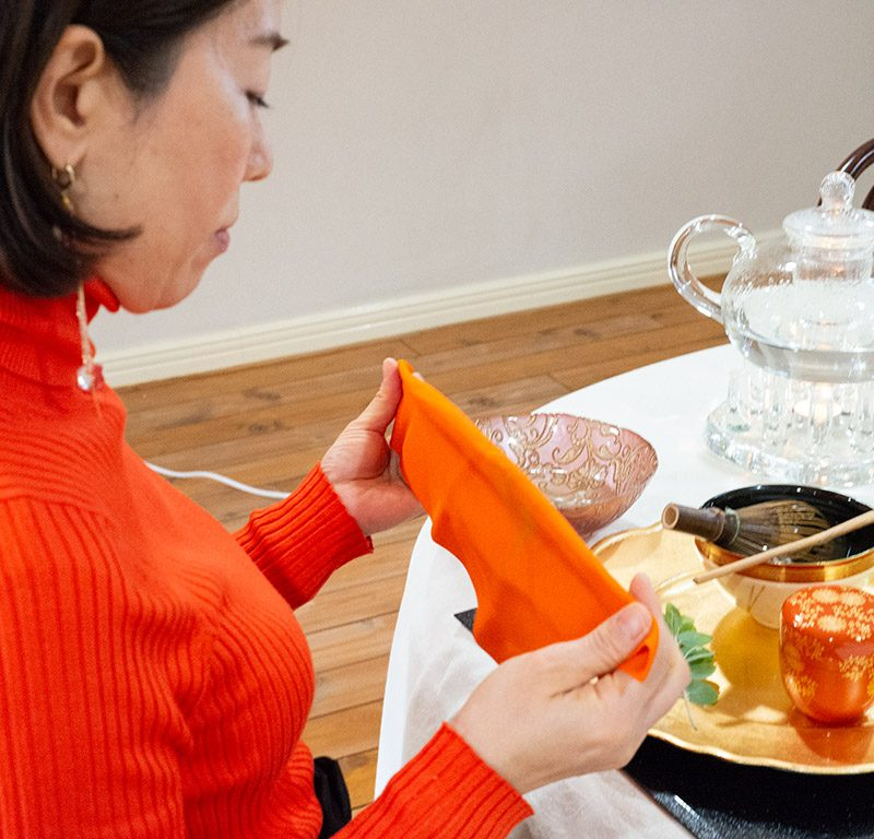 "Online ""Table Style Sado"" Tea Ceremony Experience 03"