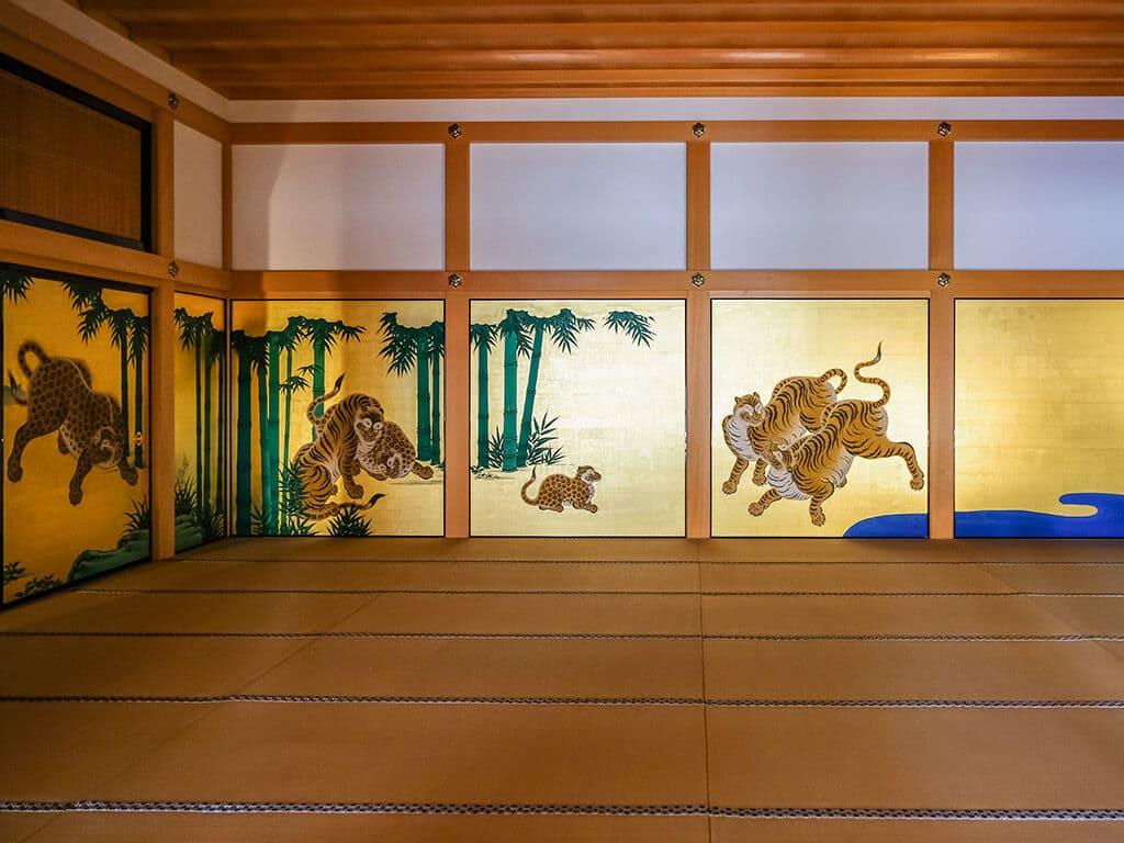 Honmaru Hoten Palace Paints