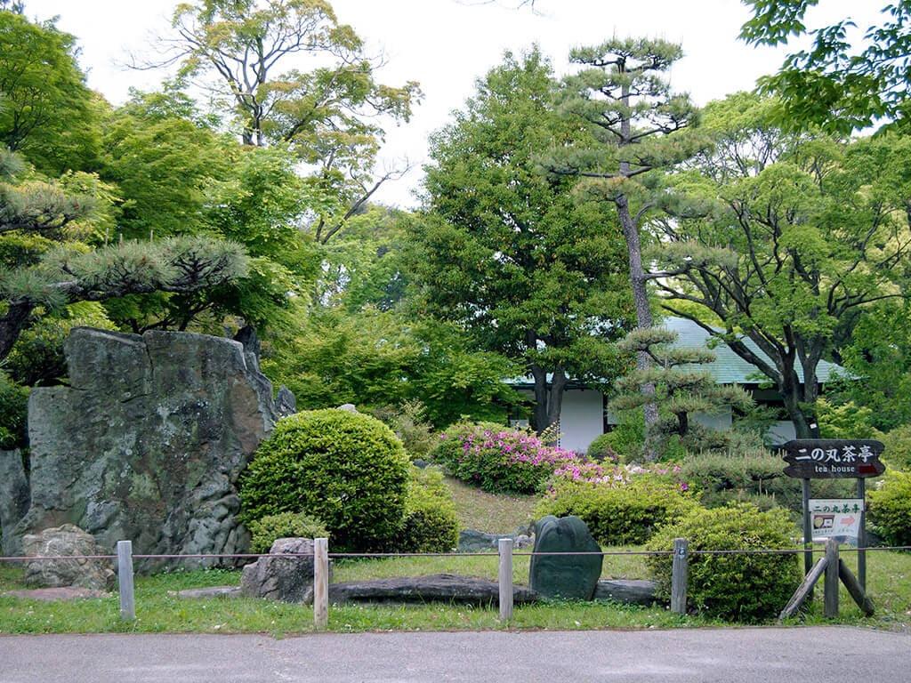 Nagoya Castle garden