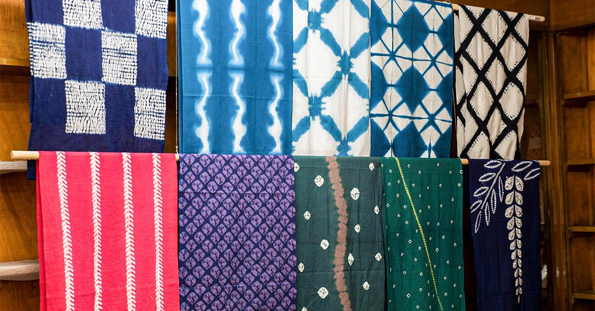 Arimatsu Narumi Shibori Tie-Dyeing