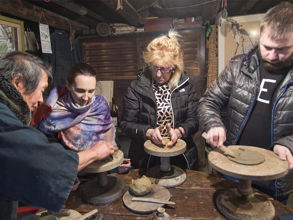 Tokoname pottery experience
