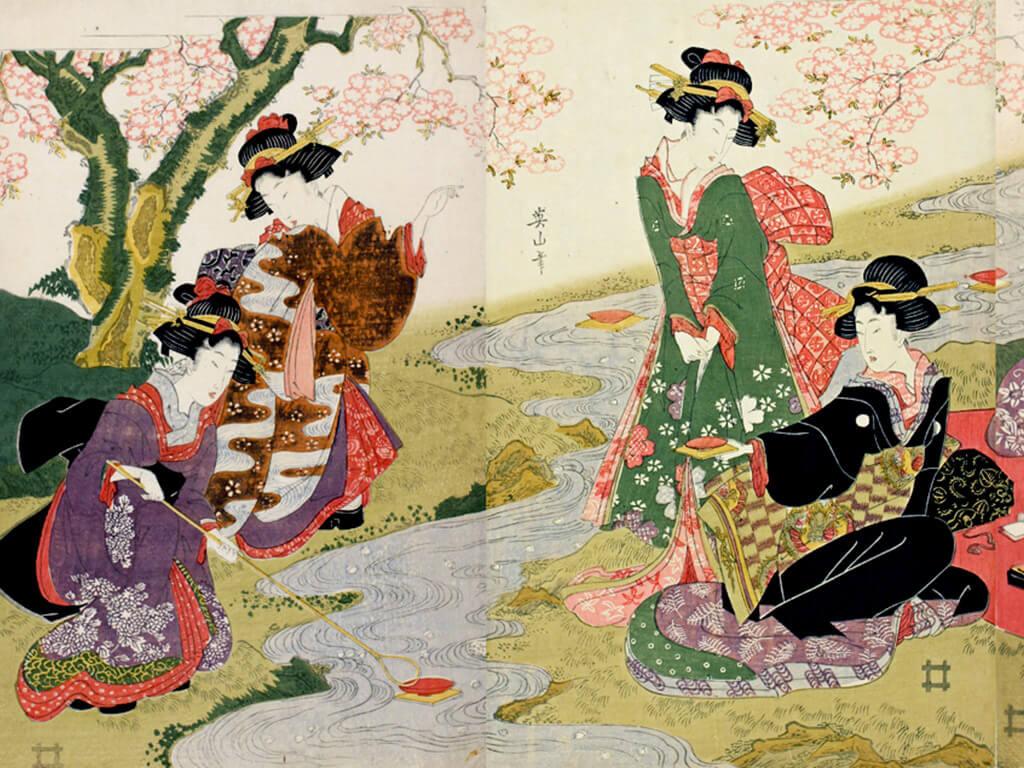 Ukiyoe-Sakura