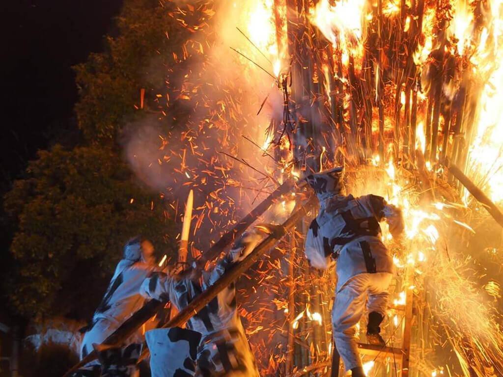 Toba Fire Festival