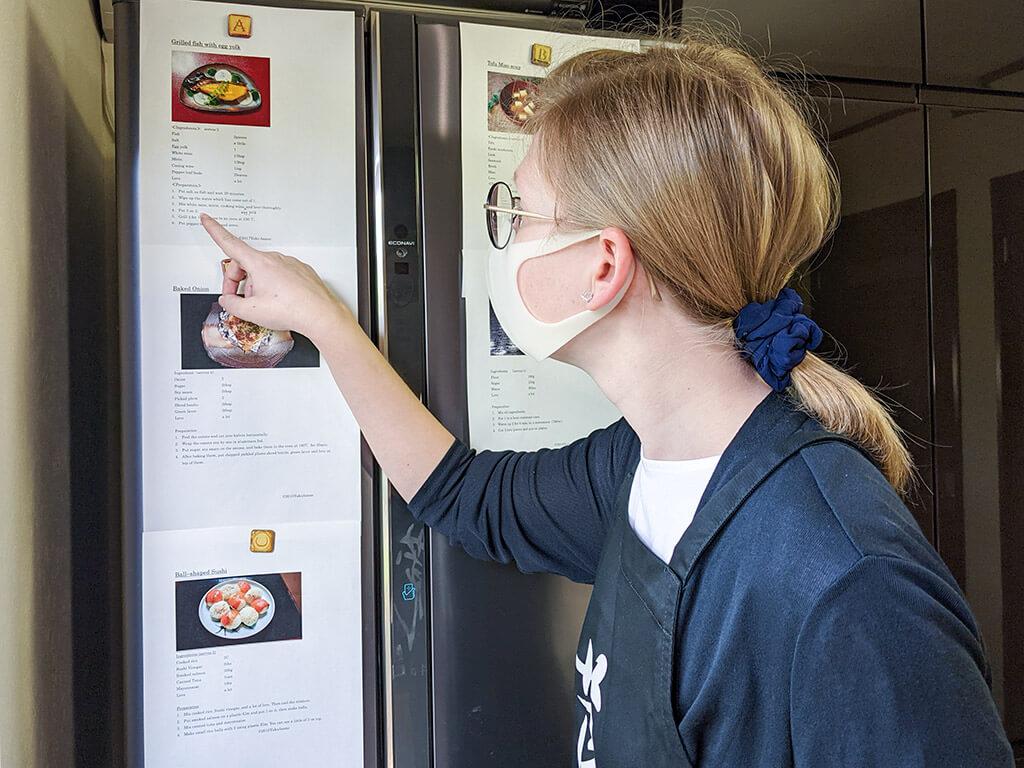 Checking recipes