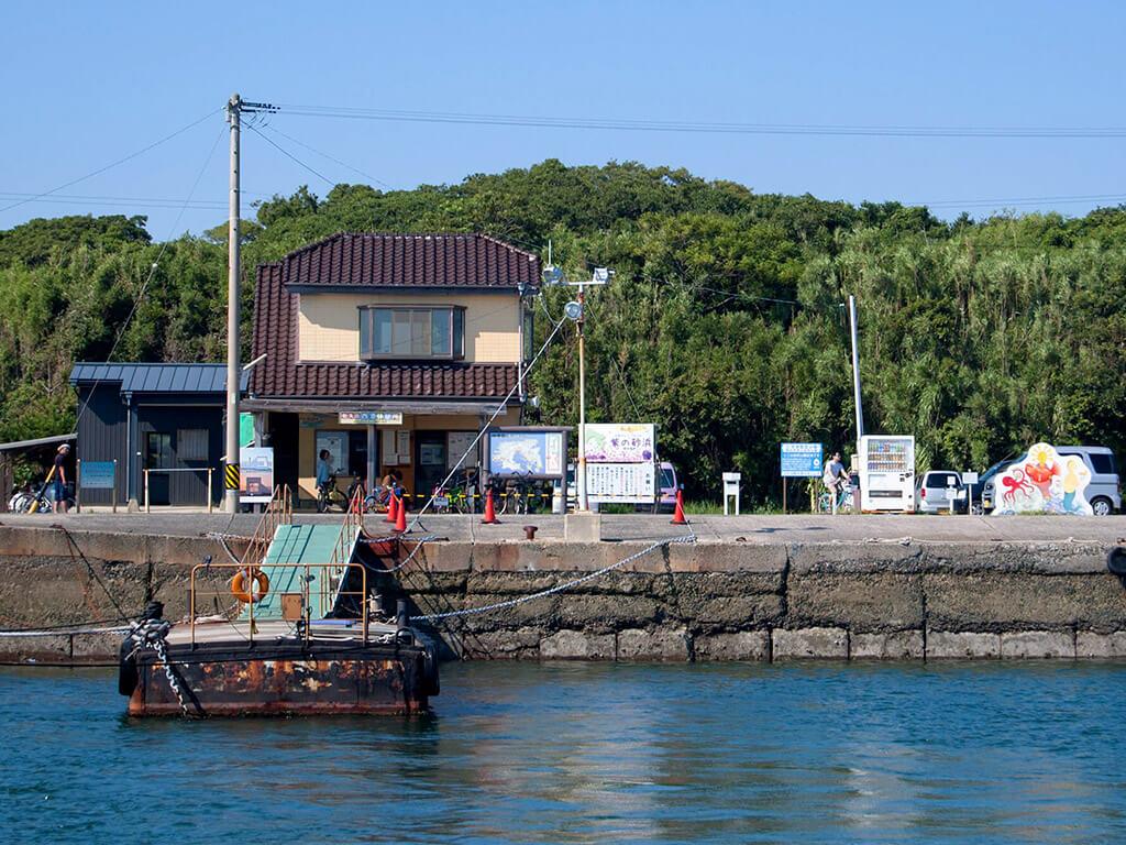 Sakushima port
