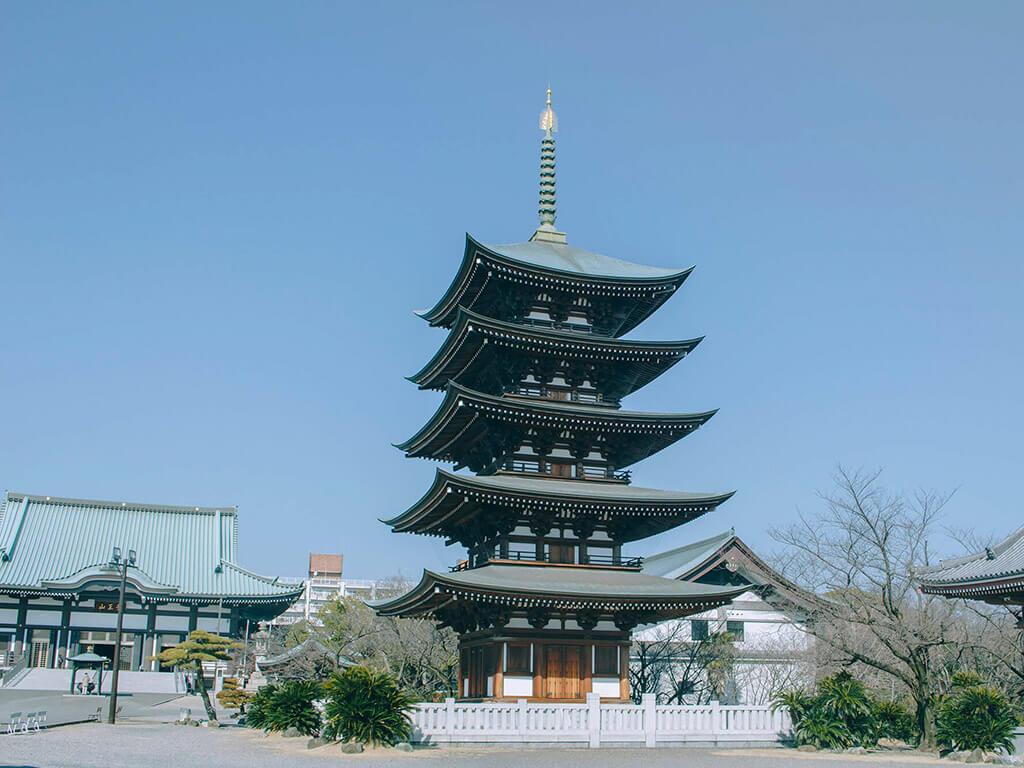Nittaiji Temple Five-Story Pagoda