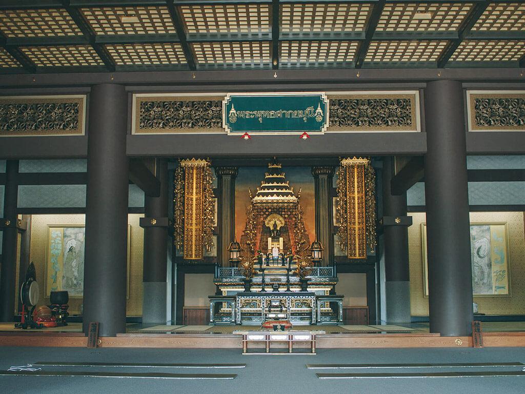 Nittaiji Temple indoors